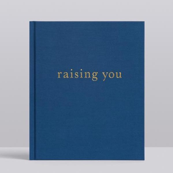 RAISING YOU. NAVY JOURNAL -  LETTERS TO MY BABY.