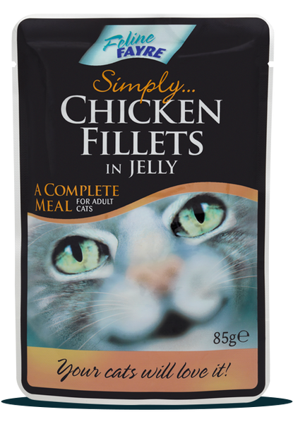 Chicken Fillets in Jelly Pouches 20 x 85g