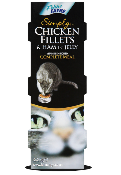 Chicken & Ham Multi 8 x 3 x 85g Cans Pack