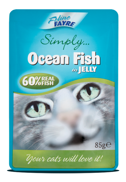 Ocean fish in Jelly 20 x 85g pouches