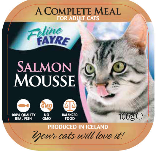 Salmon Mousse Complete Meal 16x100g