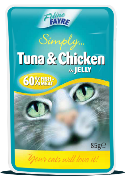 Tuna & Chicken 20 x 85g pouches