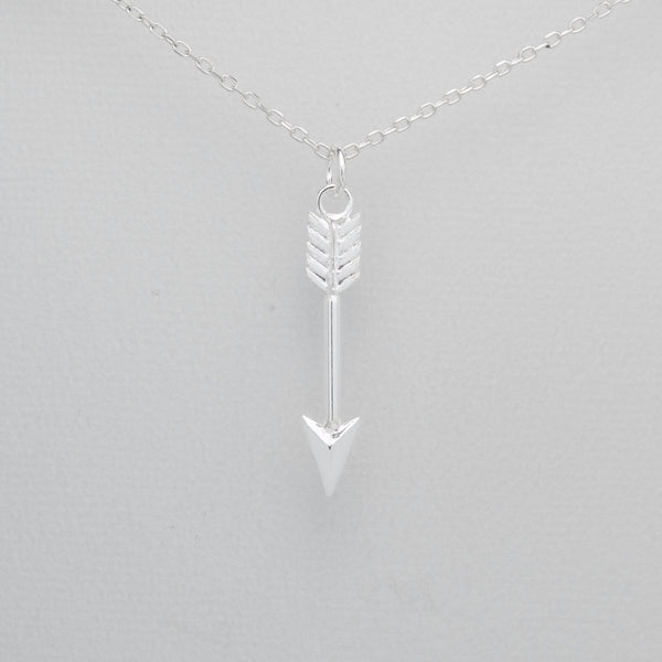 925 Sterling Silver Arrow Pendant - FemFit Design