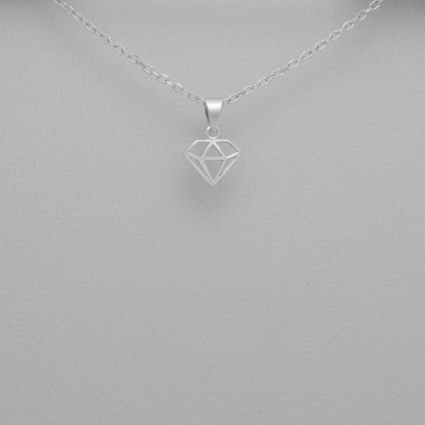 925 Sterling Silver Diamond Pendant - FemFit Design