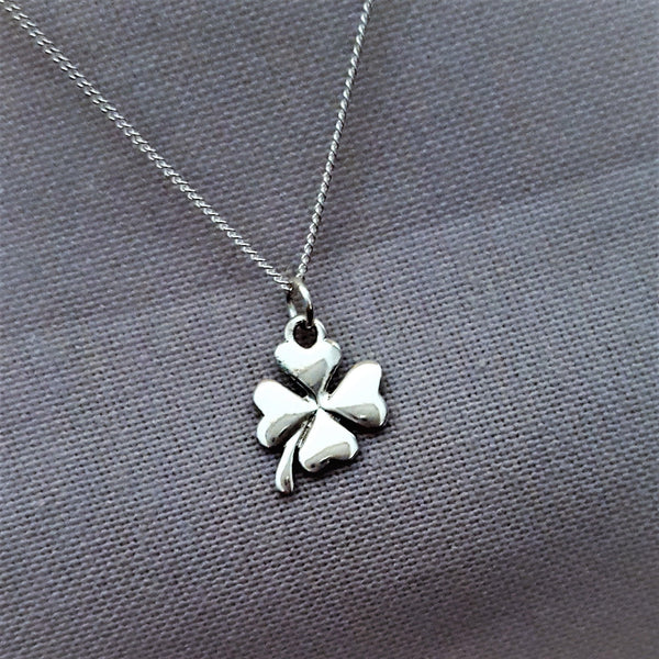 Lucky Clover Sterling Silver Necklace - FemFit Design
