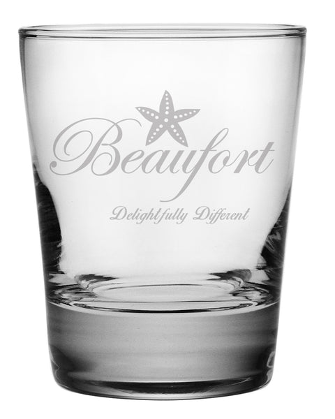 "Beaufort ""Delightfully Different""Glasses"