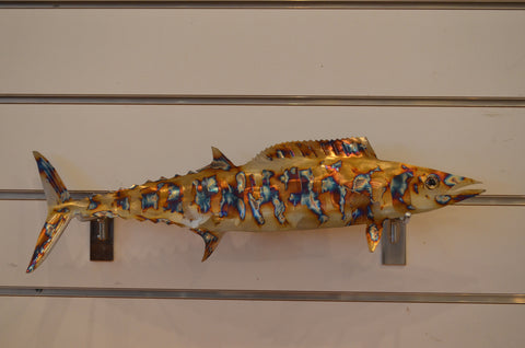 Wahoo metal fish