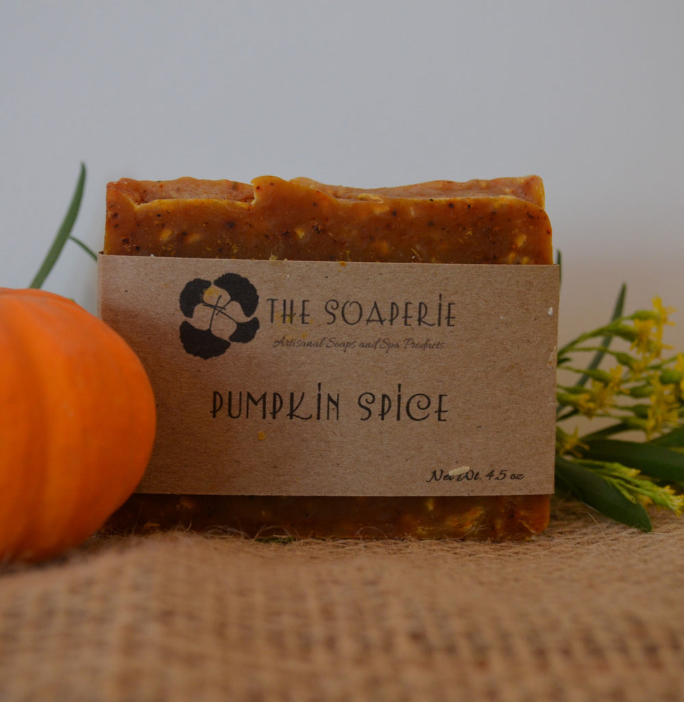 all natural pumpkin spice soap