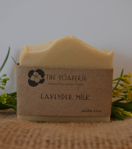 all natural lavender milk soap
