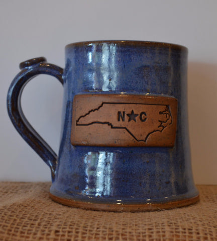 North Carolina Pottery Mug
