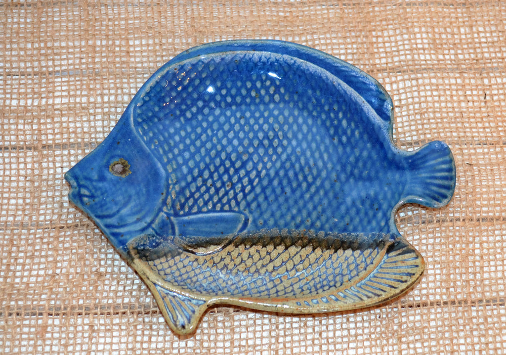Pottery Fish Plate