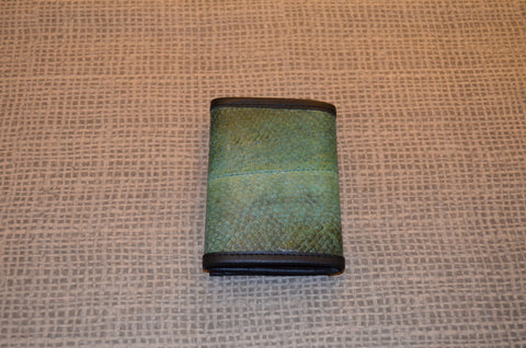 Blue Salmon Trifold Wallet