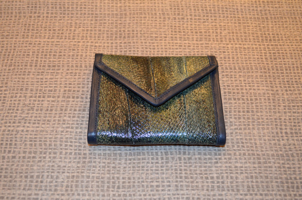 Ladies Salmon Leather Wallet