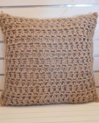 Crocheted Pillow 18 X 18