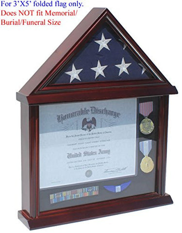 Military Burial Flag Presentation