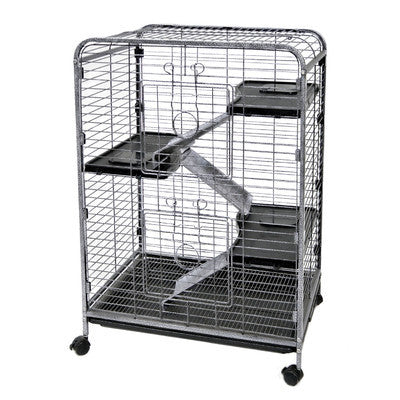Large Indoor Rabbit Cage for Two Rabbits