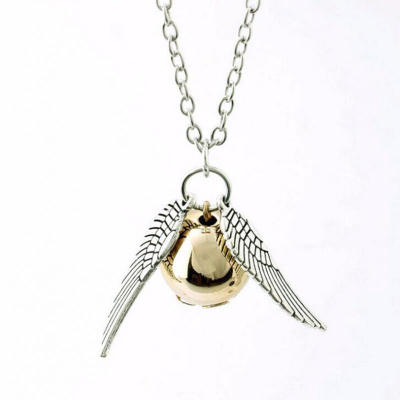 Harry Potter and the Deathly Hallows necklace Snitch