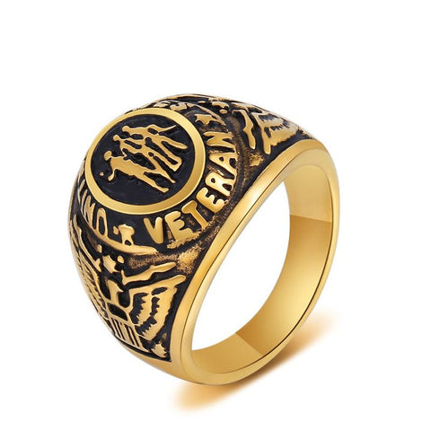 Veteran Ring War Veteran Jewelry Military Ring