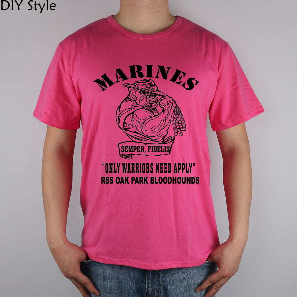 MARINES Corps T-shirt t shirt for men