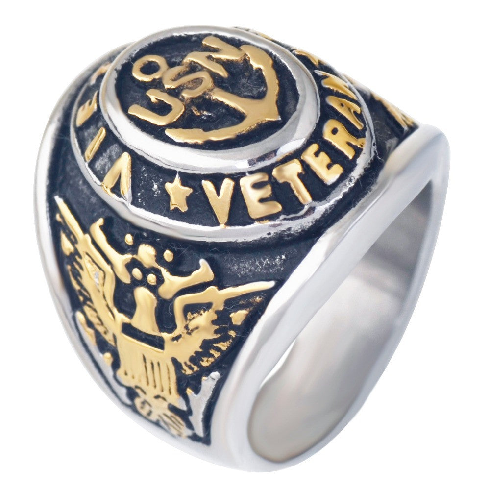 Vietnam Military Veteran Ring War Veteran