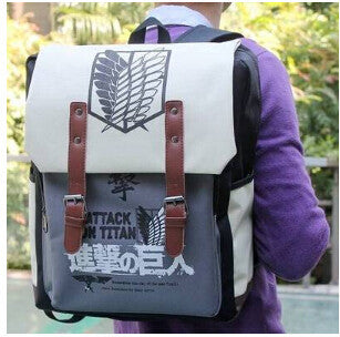 Attack on Titan Shingeki no Kyojin Ellen bag message Backpack school bag