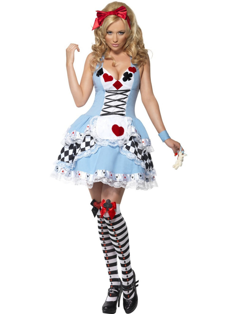 Alice in the wonderland costume For Adult Women maid cosplay XS - 4XL