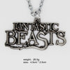 Fantastic Beasts and Where to Find Them Logo Metal Pendant Cosplay Necklace