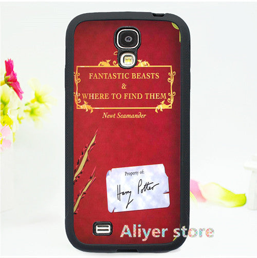 Fantastic Beasts and Where to Find Them  cell phone case cover for Samsung galaxy S3 S4 S5 S6 S7 Note 2 Note 3 Note 4 3 E1933
