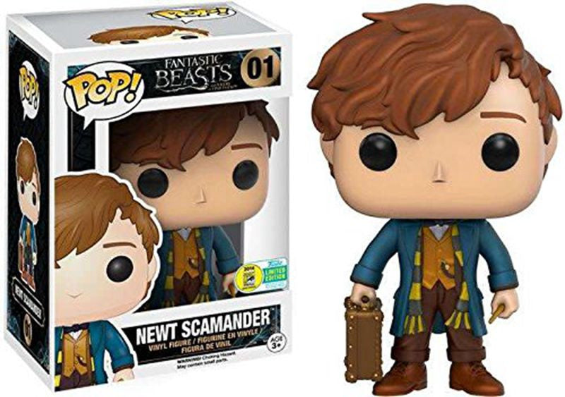 Exclusive Funko pop Official Fantastic Beasts - Newt Scamander