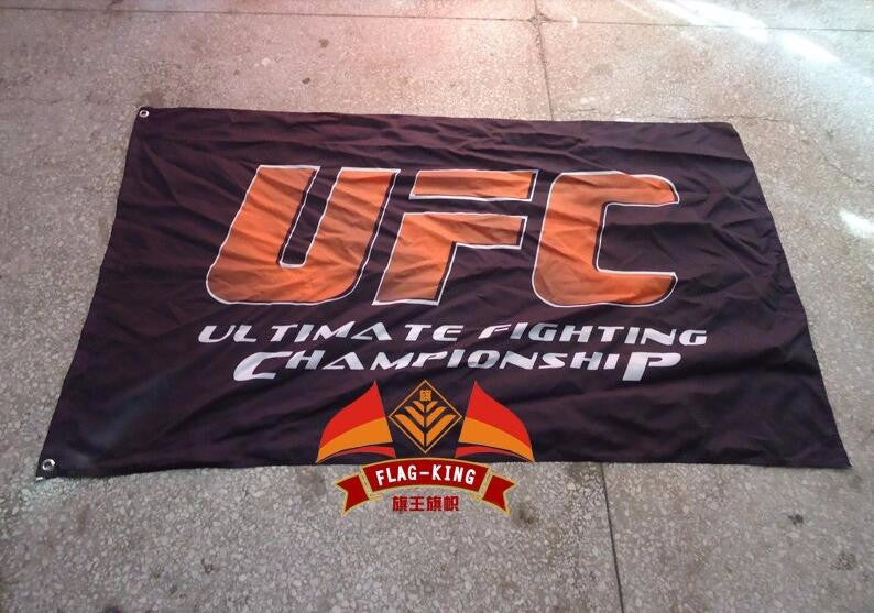 UFC Wrestling match flag,Combat Match banner free shipping,100% flag king polyster