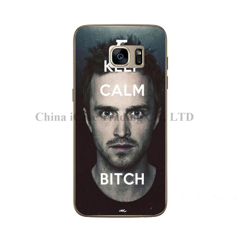 JustinBieber RondaRousey AaronPaul CONQUER UFC Champion Soft Case Covers For Galaxy C5 C7 A9 A8 A7 A5 A3 J1 J5 J7 2016 and 2015
