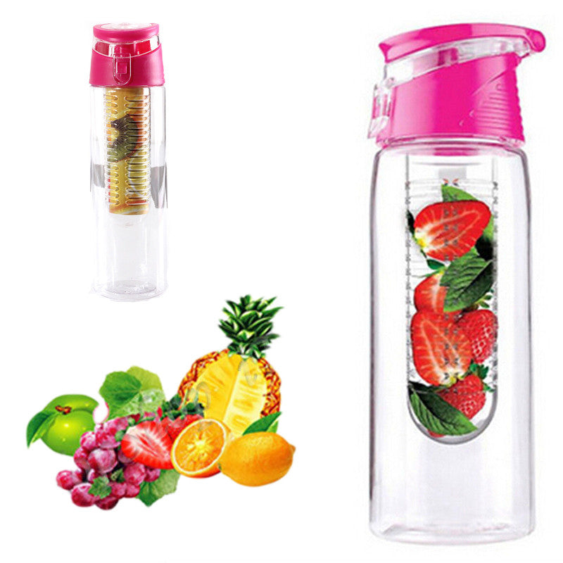 Hot 800ml Cycling Sport Fruit Infusing Infuser Water Lemon Cup Juice