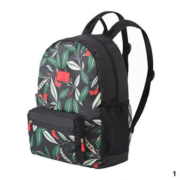 [BUNDLE] 16 PC Leaf Patterned Travel Organizer Bag (COMPLETE SET)