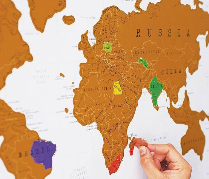 White scratch off map travel poster travel nuts white scratch off map travel poster gumiabroncs Images