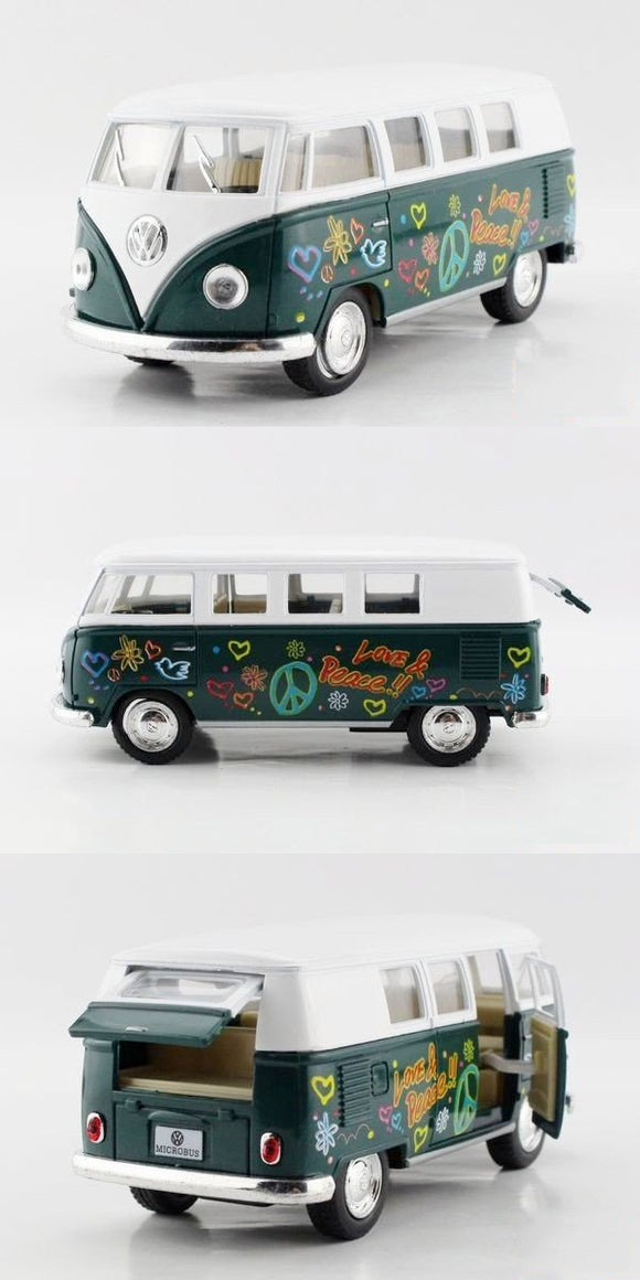 VW Type 2 Green Microbus - 1962