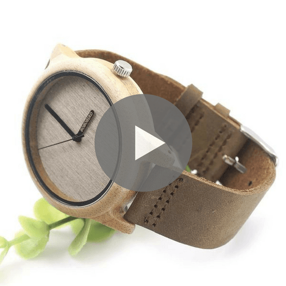 Basic Wooden Watch in Gift Box