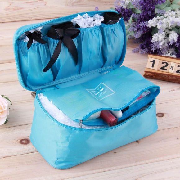 Lady's Portable Lingerie Organizer Bag (4 Colors)