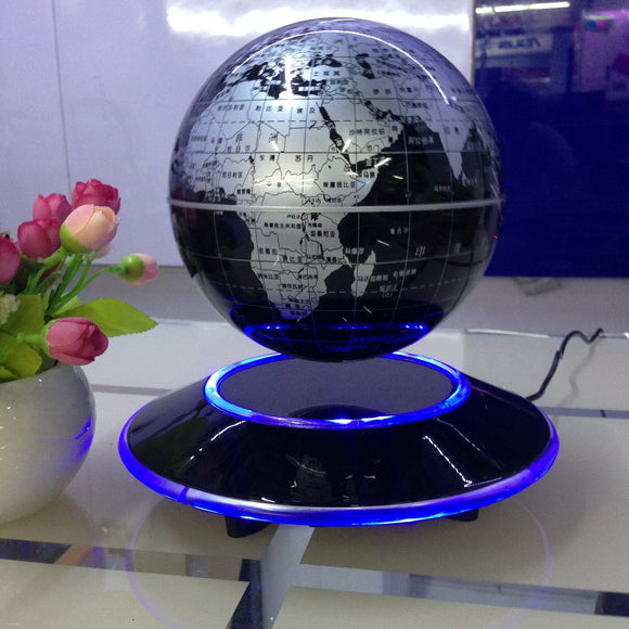 Circular Base Electronic Anti-Gravity Levitating Globe