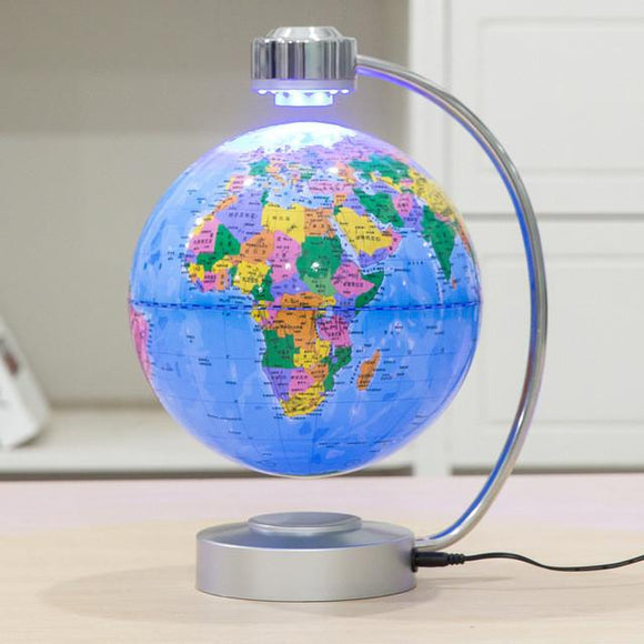 Anti Gravity Levitating World Map Globe