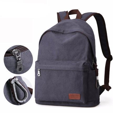 Light Travel Camvas Backpack for 14 inch Laptop