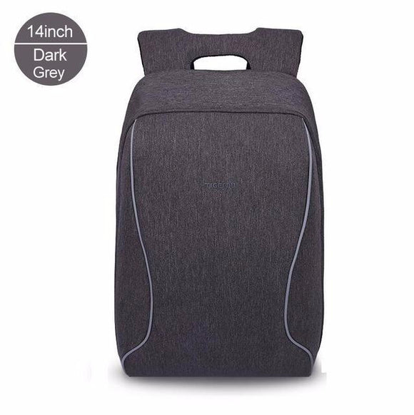 Anti-Theft Urban Business Style Laptop Backpack - 14 inch