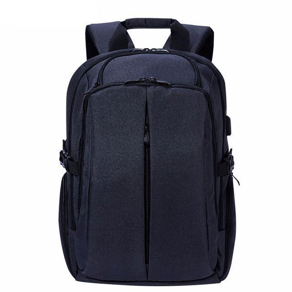 Waterproof 17 inch Laptop Student Travel Backpack with USB Charging Port