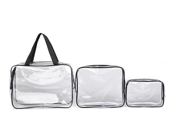 Transparent Waterproof Toiletry Wash Bathing Supplies Storage Bag/Makeup Cosmetic Bags