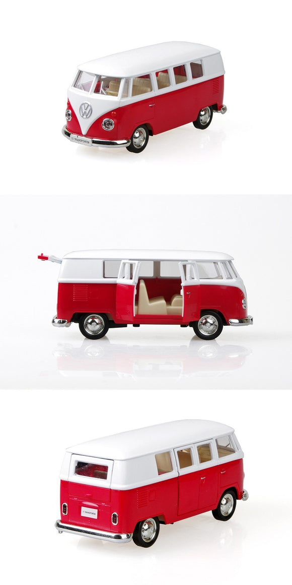 VW Type 1 Kombi Transporter Microbus Red