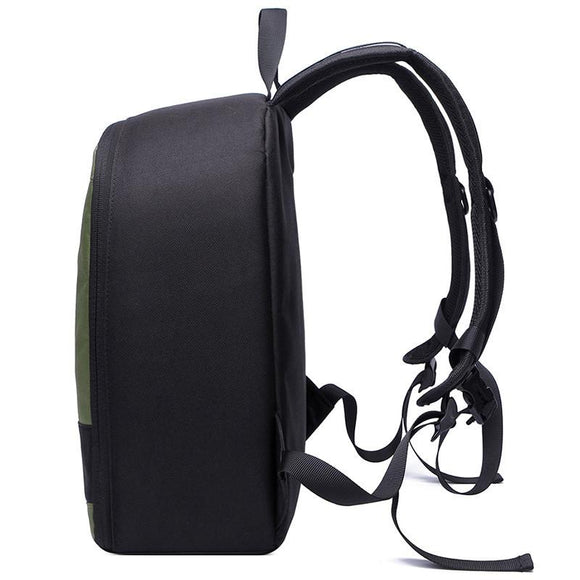 Polyester Made Waterproof DSLR Camera Backpack with Strap