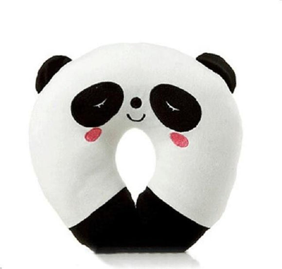 U-Shaped Cute Cartoon Animal Neck Pillow