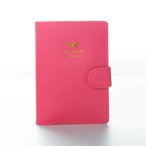 Bow Travel Passport Holder And Document Organizer