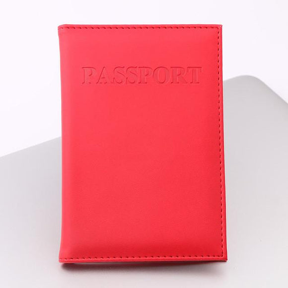 2017 New! PU Leather Passport Cover