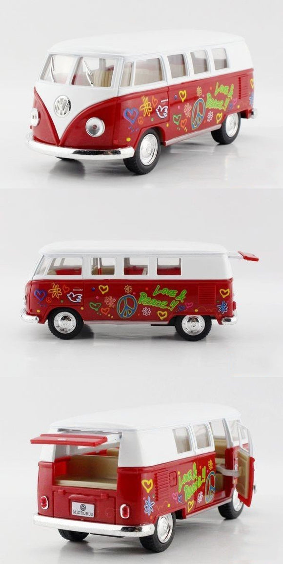 VW Type 2 Red Microbus - 1962