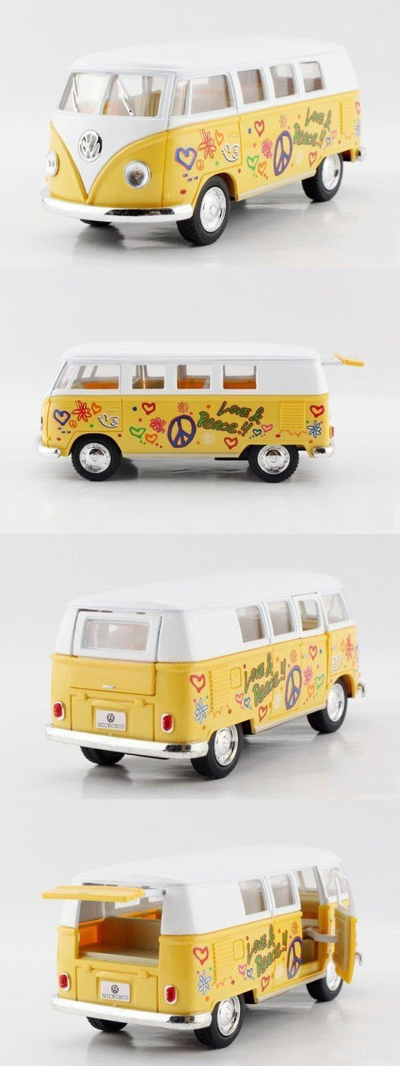 VW Type 1 Yellow Microbus - 1962